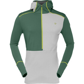 Norrøna M's Wool Hoodie Jungle Green